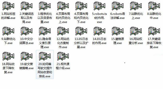 自己学习SEO在某黑帽论坛内部的seo视频教程免费下载